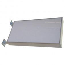 Světelný oboustranný poutač - výtrč 100 x 50 cm